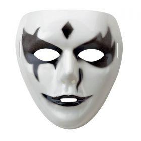 Απρόμαυρη Αποκριάτικη Μάσκα