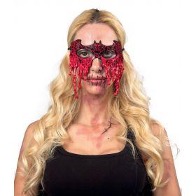 Λάτεξ Αποκριάτικη Μάσκα Δάκρυα Αίμα