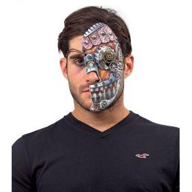 Αποκριάτικη Μάσκα Steampunk Μισή