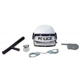 Αποκριάτικο Λευκό Σέτ Αστυνομικού
