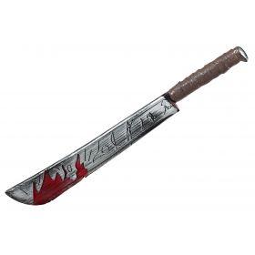 Αποκριάτικο Μαχαίρι Με Αίμα 74cm