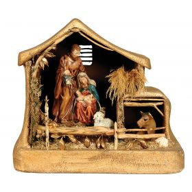 SYNTHETIC CHRISTMAS manger 76 x 50 x 70 (h) cm