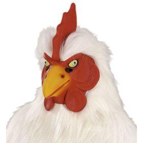 Λάτεξ Αποκριάτικη Μάσκα Κοτόπουλο