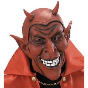 Λάτεξ Αποκριατικη Μάσκα Διαβόλου