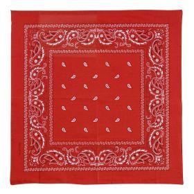 Κόκκινη Αποκριάτικη Μπαντάνα 55 x 55cm