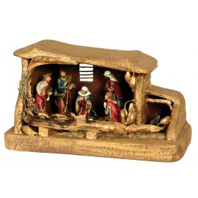 SYNTHETIC CHRISTMAS manger 55 x 28 x 34 (h) cm