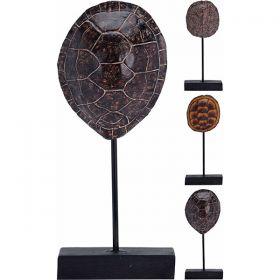 Διακοσμητική Βάση Με Καβούκι Χελώνας 16 x 7 x 27,5(h)cm