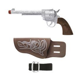 Αποκριάτικο Σέτ Κάου Μπόυ (Οπλοθήκη ,Ζώνη Και Όπλο)