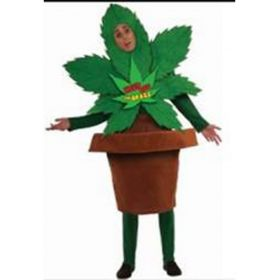 Halloween Costume Cheerful Plant