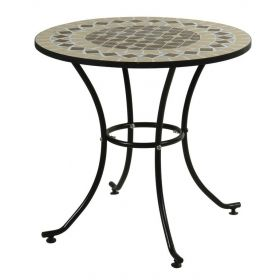 Round Table Metal Mosaic 76cm