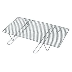 Professional Straight Grate with Handles and Legs ,100 x 40 x 12 cm