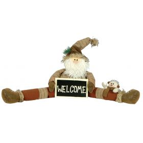 PLUSH SANTA CLAUS DECORATION71 x 26 (h) cm