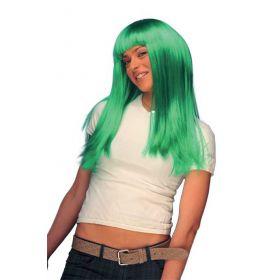 Πράσινη Αποκριάτικη Περούκα Σίσσυ