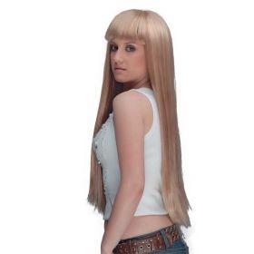 Ξανθιά Μακριά Αποκριάτικη Περούκα Αμφιτρίτη 100cm