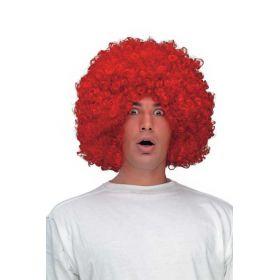 Κόκκινη Αποκριάτικη Περούκα Ντίσκο
