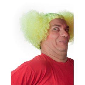 Κίτρινη Αποκριάτικη Περούκα Μπέμπα