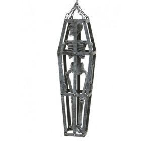 Αποκριάτικο Κρεμαστό Διακοσμητικό Φέρετρο 50cm