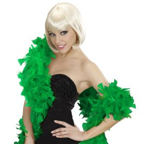 Green Carnival Boa 2 meters 70gr