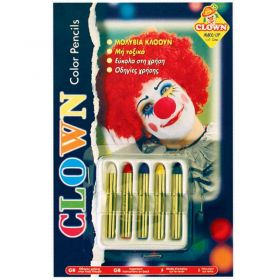 Carnival Makeup Clown Pencils