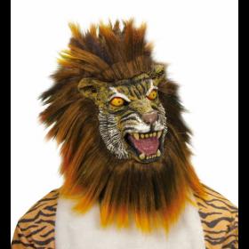 Λάτεξ Αποκριατικη Μάσκα Τίγρη