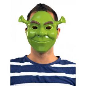 Αποκριάτικη Μάσκα Πράσινο Τερατάκι