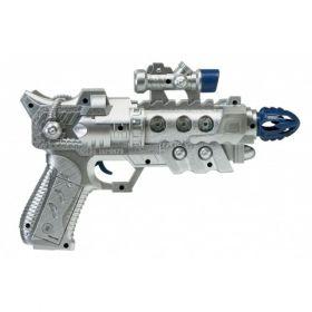 Αποκριάτικο Όπλο Διαστημάνθρωπου Με Ήχο 25cm