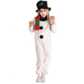 Carnival clothing SNOWMAN comprising from POT WITH DECORATIVE SCARF AND HAT (6 and 8 years old)