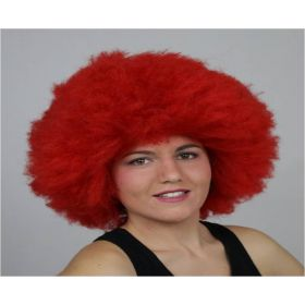 Κόκκινη Αποκριάτικη Περούκα Αφάνα