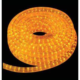 100 Μέτρα GS Σταθερός Φωτοσωλήνας Με Πορτοκαλί Φωτισμό,Ø13mm - 2w