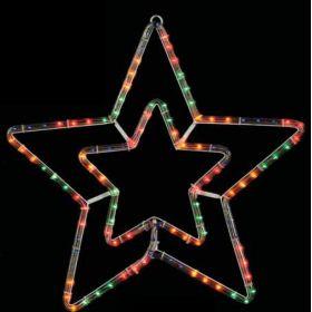 Λευκό Διπλό Αστέρι Με 8 Προγράμματα ,55(Η)cm