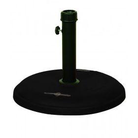 Μάυρη Τσιμεντένια Βάση Ομπρέλας 22Kgr , ⌀ 48cm