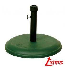 Πράσινη Τσιμεντένια Βάση Ομπρέλας 16Kgr , ⌀ 45cm