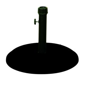 Μάυρη Τσιμεντένια Βάση Ομπρέλας 16Kgr , ⌀ 45cm
